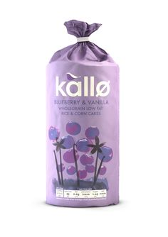 Kallo Blueberry & Vanilla Rice and Corn Cakes