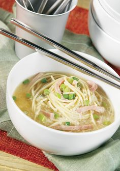 Longevity Noodle Soup –The delicious flavors in this Asian-inspired recipe make this soup a family favorite in your home. Click here to learn more about the meaning of Longevity Noodle Soup!