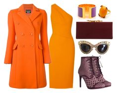 Orange & Purple by carolineas on Polyvore featuring polyvore, fashion, style, Narciso Rodriguez, Boutique Moschino, Zimmermann, Jimmy Choo, Hermès, Dolce&Gabbana and clothing