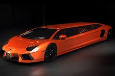 OMG a Lambo Limo. The Lamborghini Aventador limousine concept