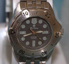 Reloj de acero inoxidable MX ONDA con armis. Watch por PetraCool