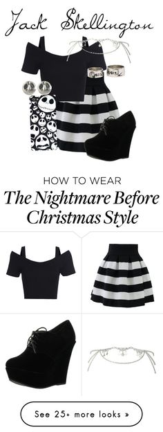 """Jack Skellington"" by disneyfanz on Polyvore"