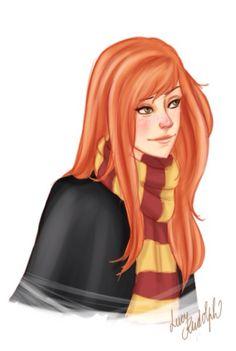 Lily Luna Potter as a Gryffindor.