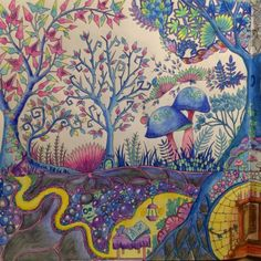 Johanna Basford | Picture by Leni | Colouring Gallery