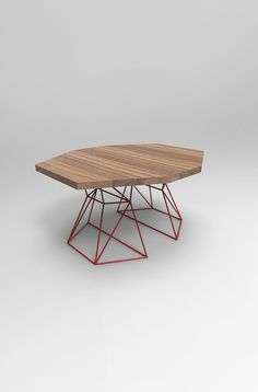 Modern Hexagon Dining Table With Extension Top In By Pwhfurniture Ceux Ci Wood Tables