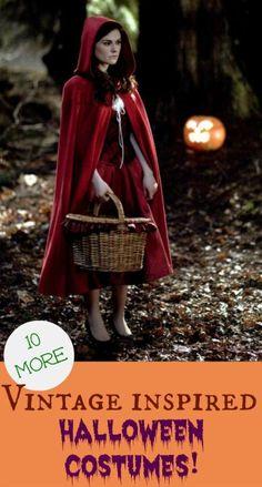 vintage inspired Halloween costumes