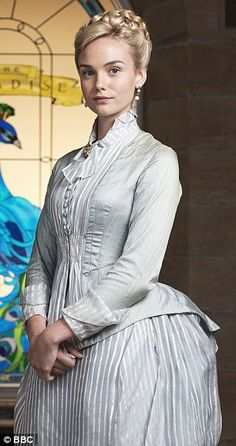 22-year-old Joanna Vanderham as Denise Lovett in BBC drama The Paradise...