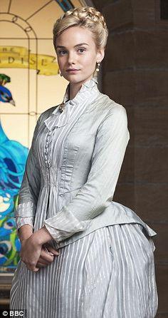 22-year-old Joanna Vanderham as Denise Lovett in BBC drama The Paradise...