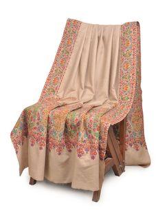 Superb Hand Embroidered Border And Palledar Large Kashmir Pashmina Shawl Kashmiri Suits, Kashmiri Shawls, Hand Work Embroidery, Embroidery Suits Design, Cashmere Pashmina, Pashmina Shawl, Pakistani Dress Design, Pakistani Dresses, Fabric Photography