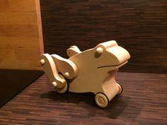 Kinder Spielzeug hüpfender Frosch ! Bauanleitung zum selber bauen