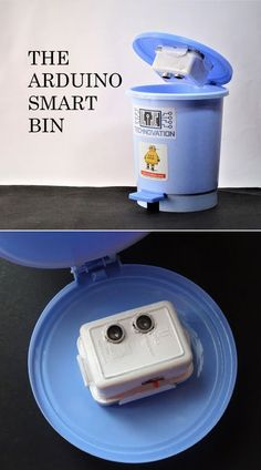 Nobody likes emptying the trashcan at home, especially when it's too full. Here is a device that indicates the level of the trash in the bin alerting everyone , with the use of a simple mobile app. This small home improvement has lead to a more efficient system.