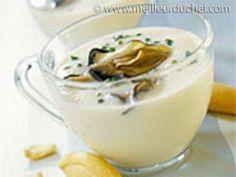 Cappuccino d'huitres à la crème de Chou-fleur - Meilleur du Chef