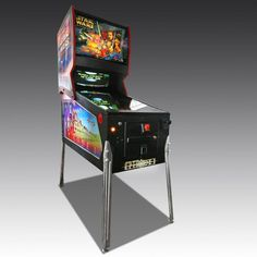 Create more office or family fun with a Star Wars Episode 1 Pinball Machine. We deliver and install, shop now for top quality games room items. Star Wars Episodes, Pinball, Arcade Games, Game Room, Room Ideas, Old Things, Tables, Stars, Fun