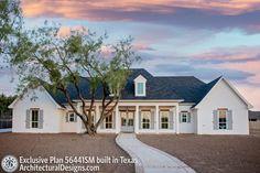 Family House Plans, Barn House Plans, Southern House Plans, Southern Homes, Dream House Plans, House Floor Plans, Texas House Plans, Country Homes, Modern Farmhouse Plans