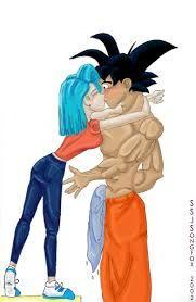 1000 images about amor on pinterest goku google and search - Goku e bulma a letto ...