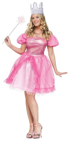 Womenu0027s Good Witch Costume - Good Witch Adult Costume Cast a spell for good little munchkins everywhere as the Witch of the North!  sc 1 st  Pinterest & Super Mario Brothers Womenu0027s Princess Peach Costume | Princess peach ...