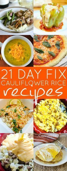 21 Day Fix Cauliflow