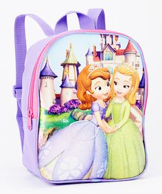Another great find on #zulily! Sofa the First Mini Backpack by Sofia the First #zulilyfinds