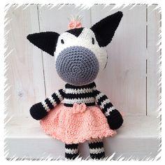 Ravelry: Zebra ballerina (svenska) pattern by Charlotte Larsson