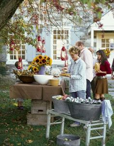 My Sweet Savannah: ~a backyard party~
