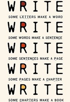 This reminds me of Anne Lamott's gorgeous book 'Bird by Bird'. Just take it one word (or bird) at a time.