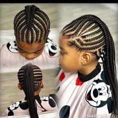 American and African Hair Braiding… - - Haare flechten American and African Hair Braiding… - New Site Black Baby Girl Hairstyles, Black Kids Braids Hairstyles, Natural Hairstyles For Kids, Braids For Black Hair, African Hairstyles, Natural Hair Styles, Natural Braids, Hairstyles Pictures, Kid Hairstyles