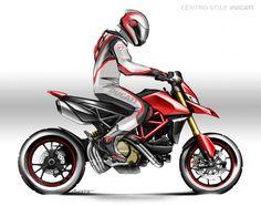 Ducati Hypermotard, Triumph Motorcycles, Cars And Motorcycles, Audi, Porsche, Motorcycle Art, Motorcycle Design, Ducati Custom, Motocross