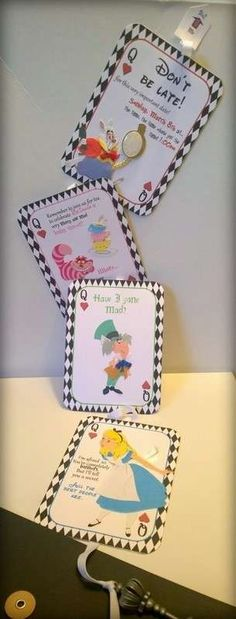 Alice in wonderland Bingo Party games Baby bingo Bingo game - baby shower nia