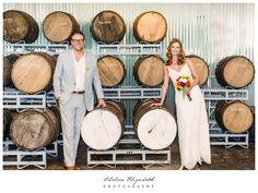 Golden Road Brewery Wedding Reception by Chelsea Elizabeth Photography