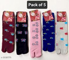 Socks Fashionable Latest Women Socks Fabric: Wool Type: Regular Pattern: Solid Multipack: 5 Sizes: Free Size Country of Origin: India Sizes Available: Free Size *Proof of Safe Delivery! Click to know on Safety Standards of Delivery Partners- https://ltl.sh/y_nZrAV3  Catalog Rating: ★4.3 (1155)  Catalog Name: Fashionable Modern Women Socks CatalogID_2317939 C72-SC1086 Code: 712-12128779-