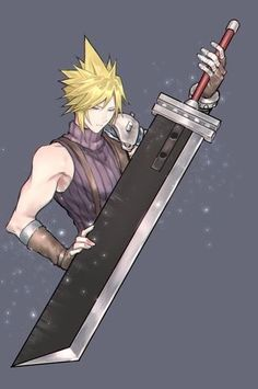 Final Fantasy Cloud, Final Fantasy Characters, Final Fantasy Artwork, Final Fantasy Vii Remake, Fantasy Series, Fantasy World, Cloud And Tifa, Cloud Strife, Videogames