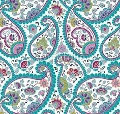 colorful paisley patterns - Google Search
