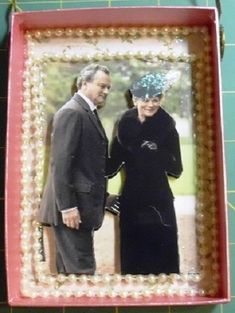Lord Grantham and Lady Rosmund