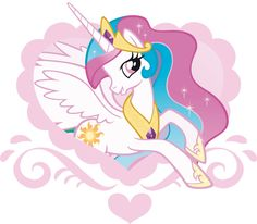 my little pony coloring pages pricess celestia | lavender pegasus with bubblegum and teal colored hair adorned with a ...
