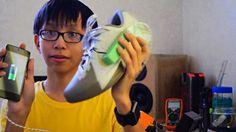 Chico de 15 años inventa un dispositivo que genera electricidad alcaminar