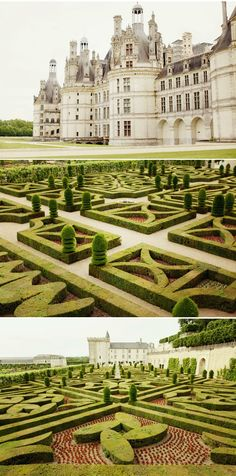 Les chateaux de la Loire, France. Photos by Alix Bancourt --- they were all within driving distance when we lived in Orleans ...