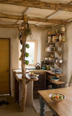 Wooden creative kitchen