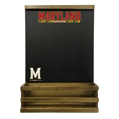 Maryland Terrapins Hanging Chalkboard, Multicolor