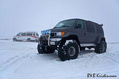 Stock vs. Modified  Fjallaferð 28-29. apríl 2012. // Mountain tour April 28-29th 2012. Ambulance, Off Road Rv, Ford 4x4, Camper Van, Hot Cars, Monster Trucks, Vans, Tours, Vehicles