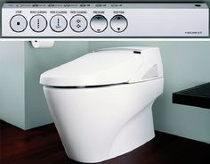 toto neorest 600.  It does everything!!!!  #bathroomdreams @Hansgrohe USA