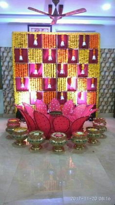 Discover recipes, home ideas, style inspiration and other ideas to try. Wedding Backdrop Design, Desi Wedding Decor, Wedding Hall Decorations, Marriage Decoration, Backdrop Decorations, Wedding Mandap, Wedding Receptions, Paper Backdrop, Wedding Table