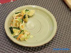Carole's Chatter: Japanese style potato salad Japanese Style, Japanese Food, Japanese Potato Salad, Kewpie Mayonnaise, Rice Vinegar, Cucumber, Mashed Potatoes, Zucchini, Quotations