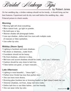 mary kay bridal makeup tips by robert jones perfect to help choose your right time of day
