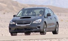 2014 Subaru WRX Spy Photo