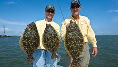 Southern flounder haunt the estuaries of the Louisiana Gulf Coast.