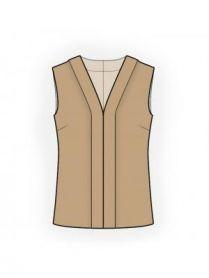 Patrons de couture Lekala - Femmes Blouses Patrons de couture Fait sur mesure et Libre de droits