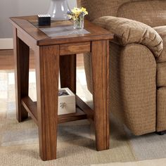 Signature Design by Ashley T353-7 Toscana Chairside End Table | ATG Stores