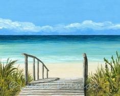How To Paint A Beach Scene In 2018 Making Fun Kids Rooms