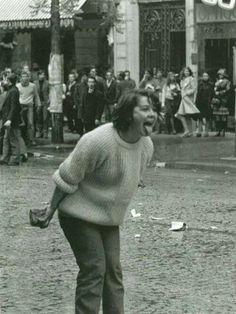 Estudante, maio de 68, Paris
