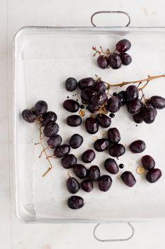 Roasted Balsamic Grapes   KiranTarun.com